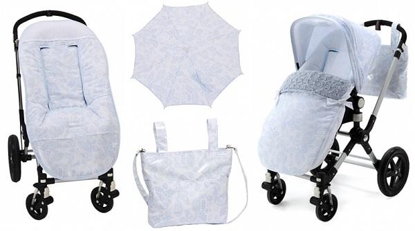 Complementos para el carrito de paseo del bebé