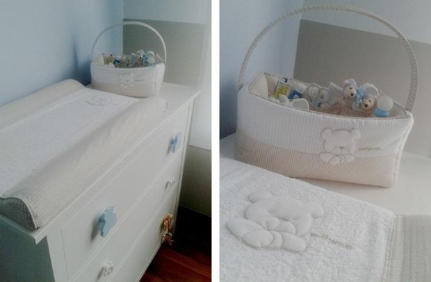 transformar cómoda en cambiador para bebés
