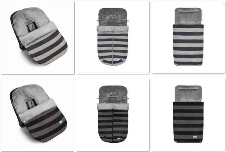 juego stripes para sacos de invierno baby clic praia