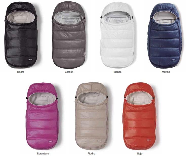 Sacos para grupo 0 modelo Fiordo de Baby Clic
