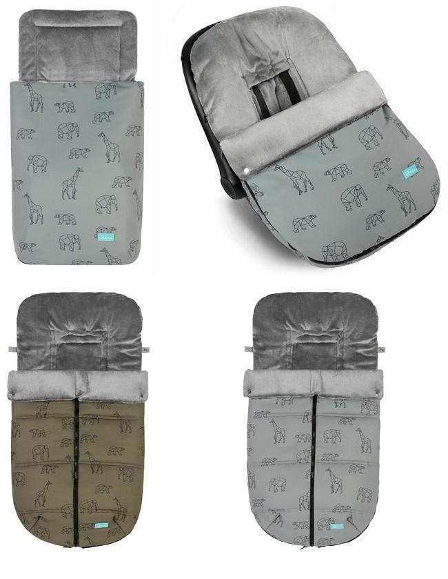 Sacos para sillas de paseo capazo y grupo 0 de invierno baby clic - Sacos silla bebe invierno ...