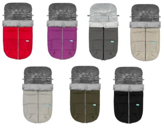 Sacos para silla de paseo modelo Eskimo de Baby Clic