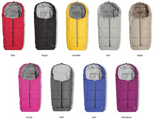 Sacos para sillas de paseo capazo y grupo 0 de invierno baby clic - Sacos para sillas de paseo bugaboo ...