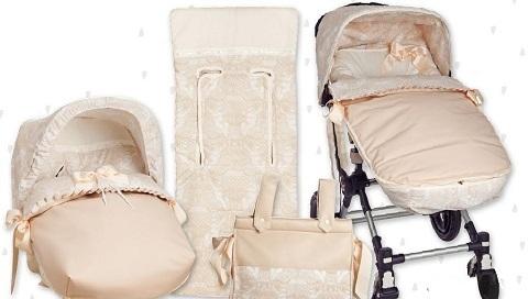 nueva coleccion de saco para carrito de paseo y colchoneta