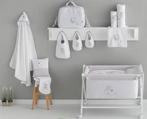 nuevas colecciones de ropa de cuna para bebé