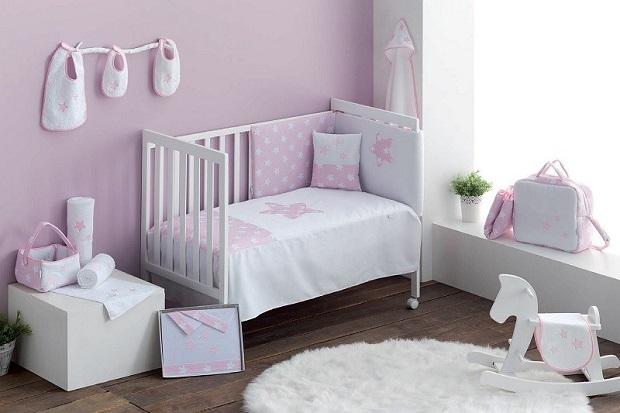 Colección Nova de Pekebaby en color azul y rosa